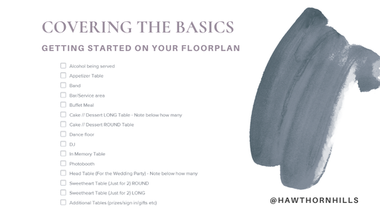 covering the basics for your floorplan denton venue