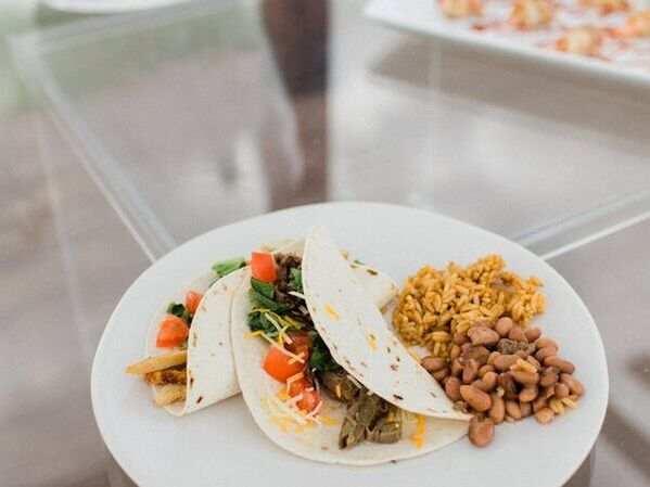Taco catering in Denton Photo by Lauren Bloom Photography
