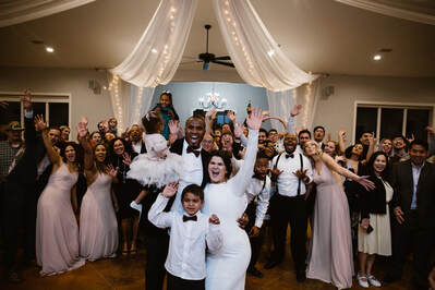 celebrations at at winter wedding by Love sick photographs